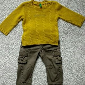 United Colors Of Benetton Other - United Colors of Benetton sweater 9-12 months