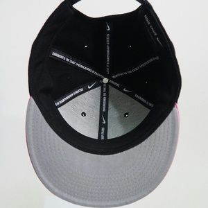 abea467d0 Nike True Fly Snapback Hat Pink and Black