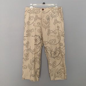 Allyson Whitmore Pants - Ladies capris size petite large