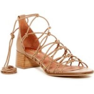 Shellys London lace up sandals