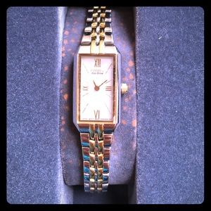 Citizen Accessories - Women's Gold and Silver Citizen Eco-Drive Watch