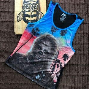 Fifth Sun Other - Fifth sun Star Wars men's chewbacca tank size XL