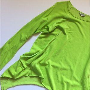 Hard Tail Tops - Hard Tail asymmetrical sweatshirt