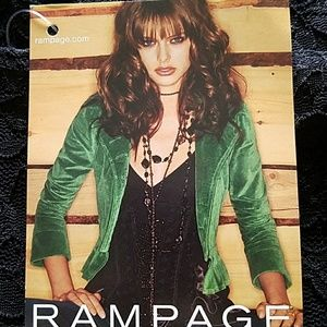 Rampage Stretchy Lace Top