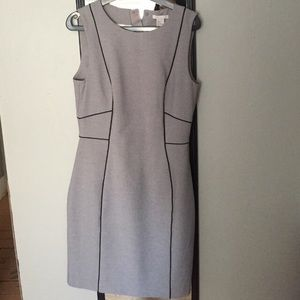 H&M form-fitting grey dress with tags!