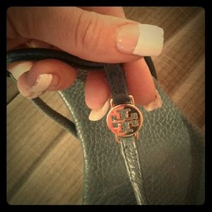 Tory Burch Navy Sandals Size 8 Navy