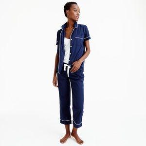 J. Crew Other - EUC J.Crew {Lemon} Vintage Short-Sleeved Pajamas