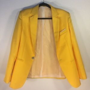 Vintage Jackets & Blazers - Vintage Yellow Sports Coat Blazer Jacket - Sz S