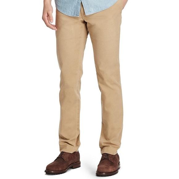 best authentic fresh styles coupon codes Polo Ralph Lauren // Slim Fit Khaki Pants