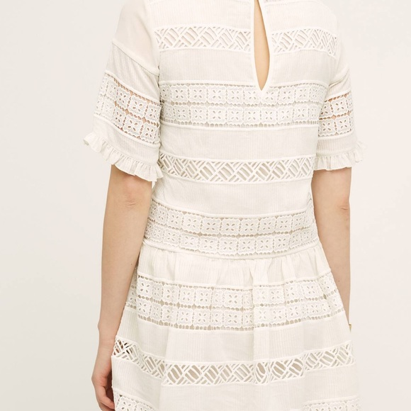64 off anthropologie dresses amp skirts white lace