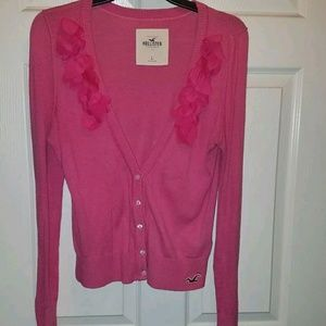 Hollister pink sweater