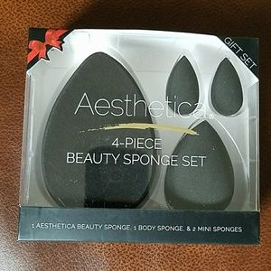 Aesthetica  Other - *SALE*Aesthetica 4 Piece Beauty Sponge Collection