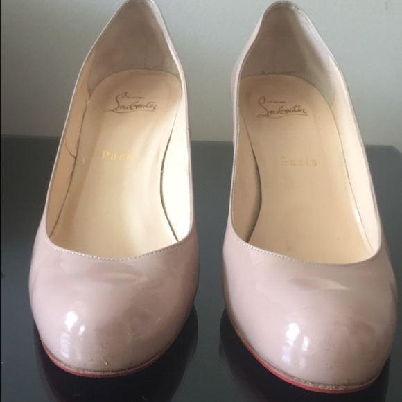 newest collection 3c48a c0a4e Louboutin Simple Pump 70mm - Nude