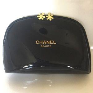 CHANEL Handbags - Jumbo Chanel Beaute Makeup Bag