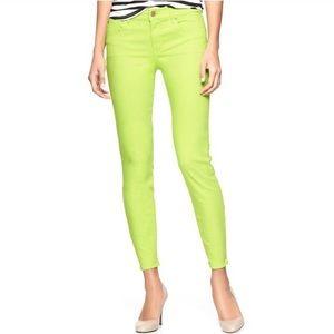 GAP Denim - GAP Legging Skimmer Neon Yellow 🌟MAKE AN OFFER!
