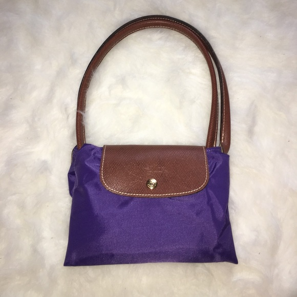 31 off longchamp handbags longchamp large purple