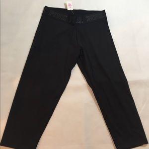 PINK Victoria's Secret Pants - Victoria's Secret PINK extreme yoga crop pants