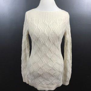 Ann Taylor LOFT Boatneck Sweater Size Small