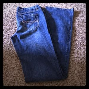 Like New Mossimo Bootcut Jeans Size 7 Long