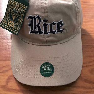Our Legacy Accessories - RICE LEGACY BASEBALL HAT