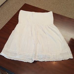 aerie Other - AERIE white strapless cover up size XXL