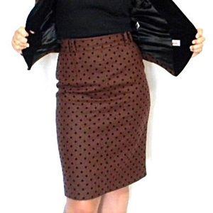 mondi Dresses & Skirts - Vintage wool polka dot skirt