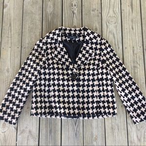 Nine West Jackets & Blazers - NINE WEST Houndstooth Blazer Size 12