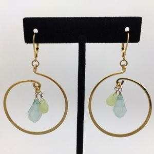 Cookie Lee Jewelry - 🎁 Cookie Lee | Aqua Briolettes Earrings