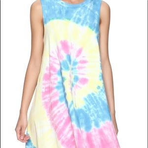 Tie dye audrey 3+1 dress for sale!