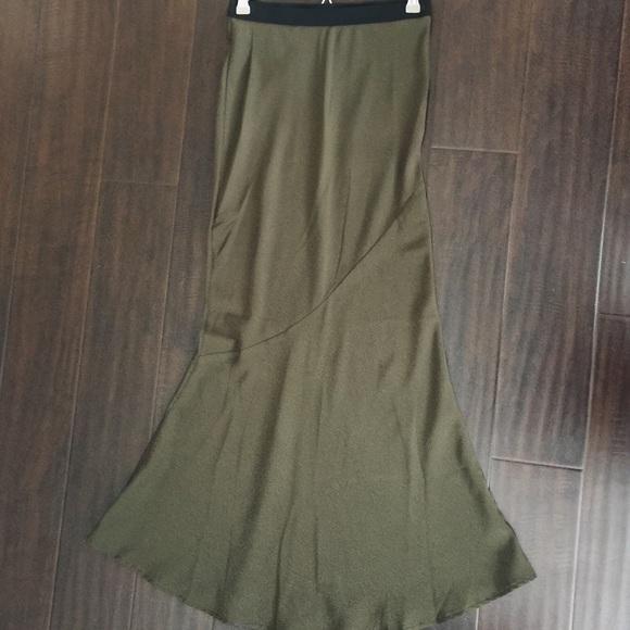 73 forever 21 dresses skirts olive green mermaid