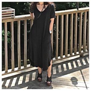 Dresses & Skirts - Loose fit tie dye side pocket dress  1 HOUR SALE
