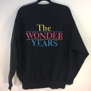Vintage Other - The Wonder Years Vintage Crewneck Sweater - Sz XL