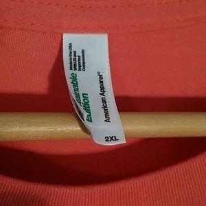 American Apparel Shirts - ANDRE JOSEPH AMERICAN APPAREL KERRY 2XL DRESS TEE