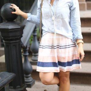 chelsea 28 Dresses & Skirts - Chelsea 28 stripe pink skirt
