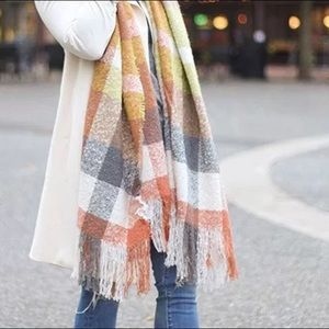 Accessories - Check printed scarf! Stock up for the Fall