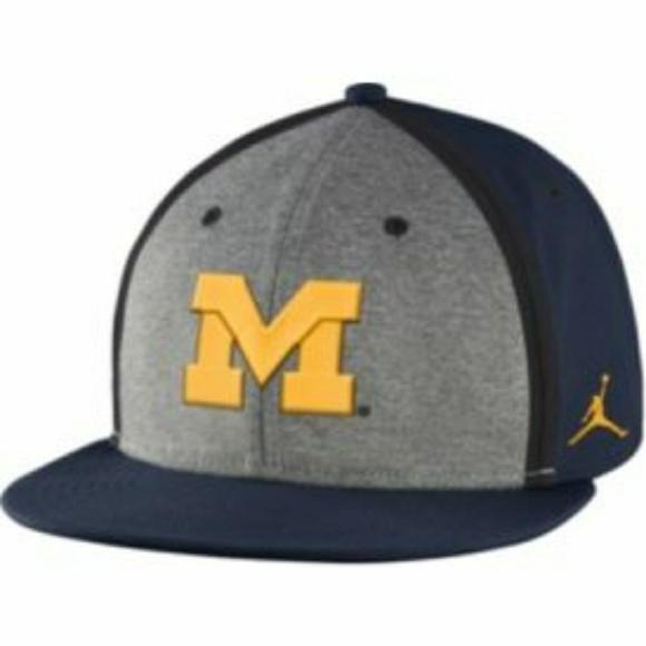 4545e157395 Jordan Accessories   Brand Michigan Wolverine Cap   Poshmark