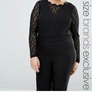 Junarose Tops - Lace bodysuit