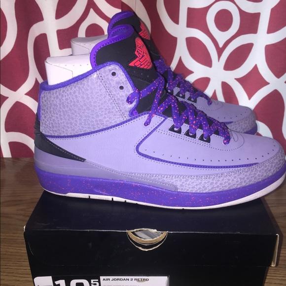 Air Jordan Retro Iron Purple 2s