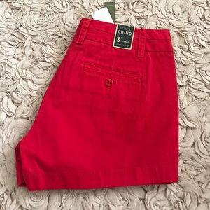 "J. Crew Pants - j.Crew 3"" Chino shorts"