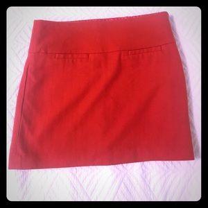 Gap orange wool skirt