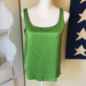 Escada Tops - Escada Silk Tank Top