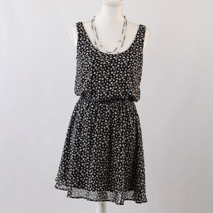 Mimi Chica Dresses & Skirts - Mimi Chica Adorable Heart Polkadot Printed Dress