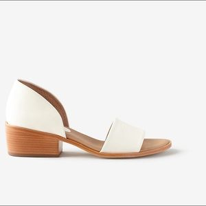 Steven Alan Shoes - Steven Alan cream d'Orsay sandals