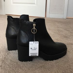 Mango Shoes - NWT Mango Platform Ankle Boot