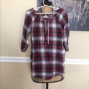 Speechless Other - Plaid Tunic