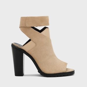 Kelsi Dagger Shoes - NWOT Kelsi Dagger Brooklyn Heels in Natural Lux