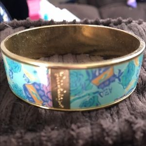 Lilly Pulitzer Jewelry - PRICE DROP! Lilly Pulitzer Alpha Xi Delta bangle!
