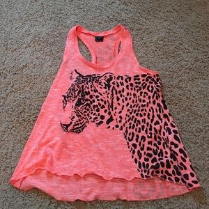 Tops - Cheetah tank top