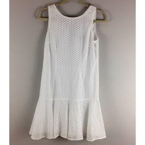 Spense Dresses & Skirts - {Spense Petite} Eyelet White Dress