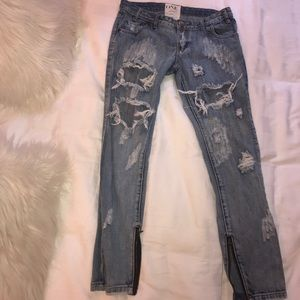 One Teaspoon BF jeans